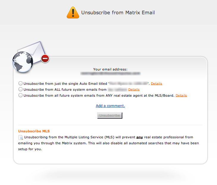 Realtors Using Matrix Understand Unsubscribes And What It Means To You