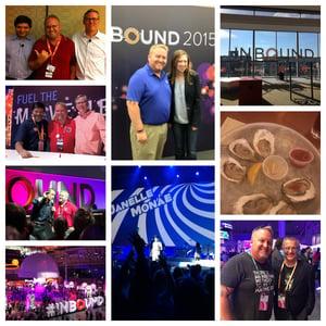 collage of memories at INBOUND - 10 Things to do in Boston Around Inbound