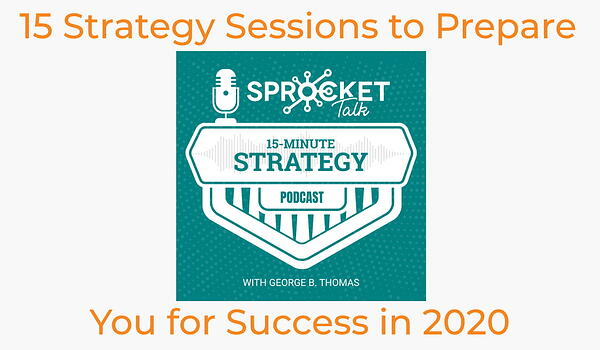 15 Strategy Sessions to Prepare You for Success in 2020