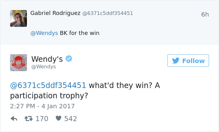 Wendy's vs Burger King on Twitter - 4 Ways Your Brand Helps Customer Retention