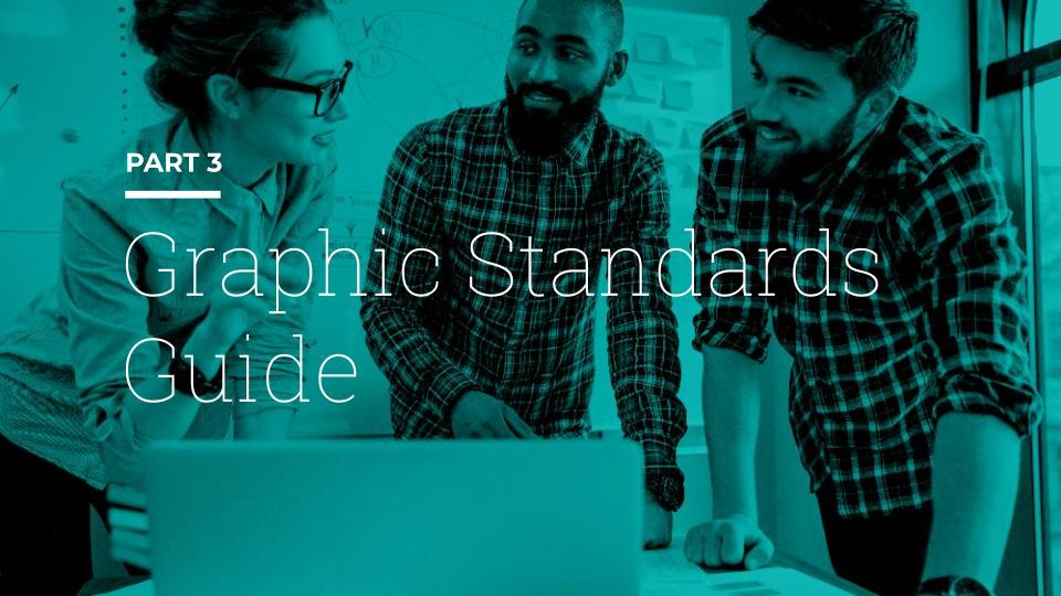 Graphic Standards Guide as one of 5 keys to owning and honing your brand identity