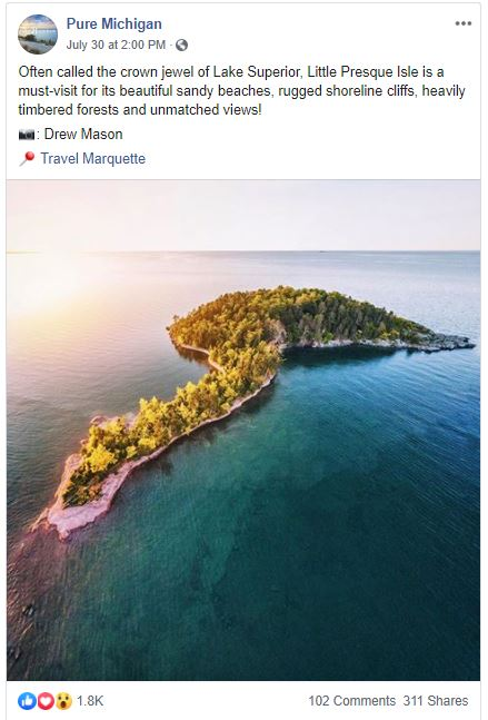 Pure Michigan taking a break - 5 Reasons Social Media Actually Does Apply to Your Industry