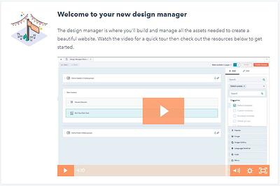 HubSpot Design Manager example for 7 Benefits to Hosting Your Website on the HubSpot Standalone CMS