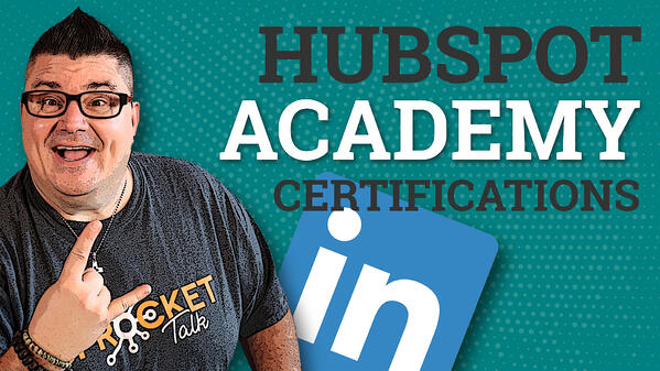 Add your HubSpot certifications to your LinkedIn profile