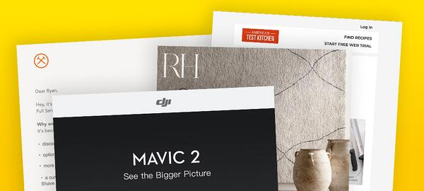 4 Email Designs To Inspire You To Design Better Emails