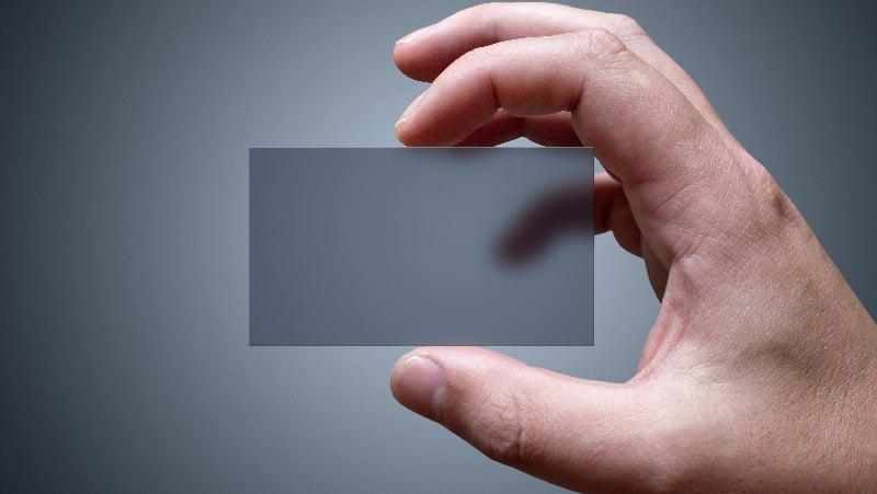 unique-material-plastic-business-card-design
