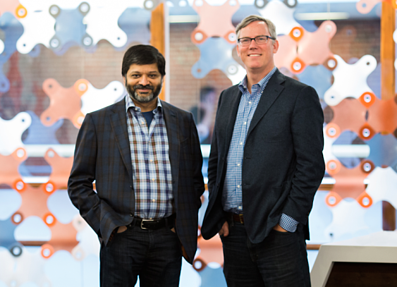 Brian Halligan and Dharmesh Shah - Co-Founders of HubSpot