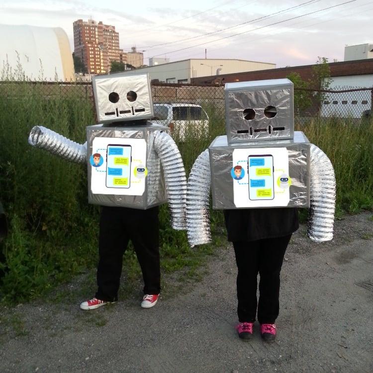 Conversational marketing bot halloween costume