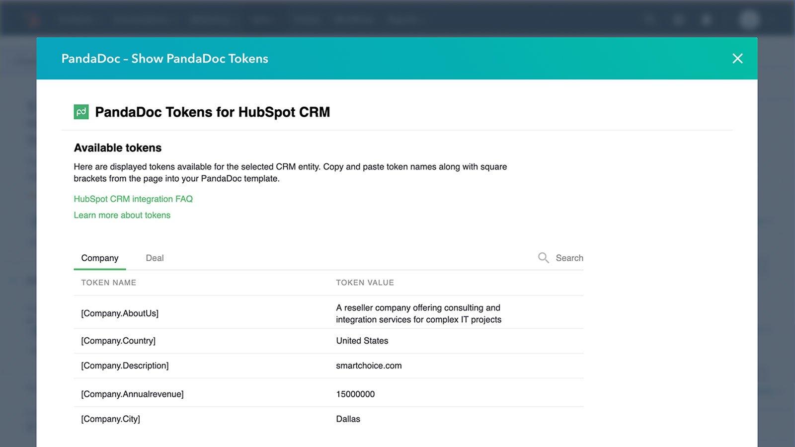 Use HubSpot CRM Data