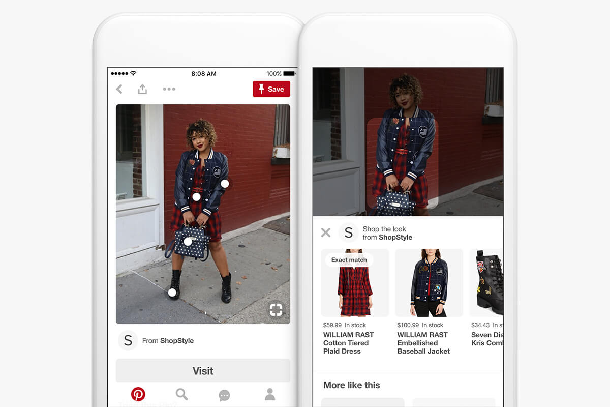Pinterest shop the look product tagging tool