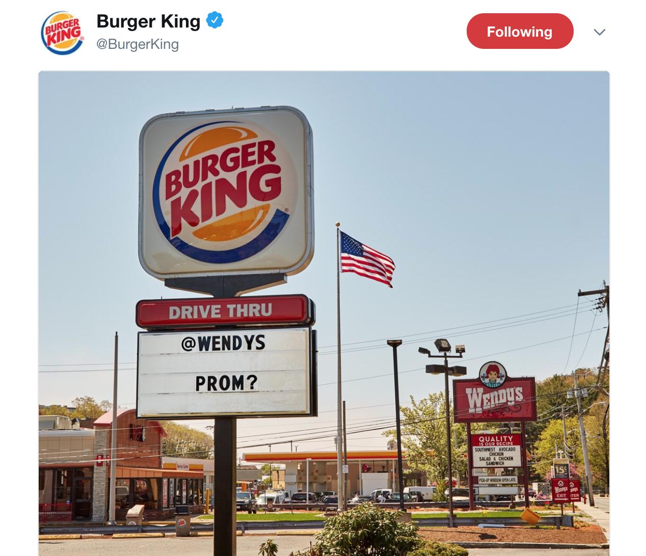 Burger King Social Media Marketing