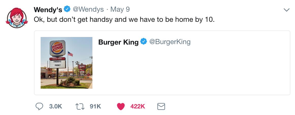 Wendys Social Media Marketing