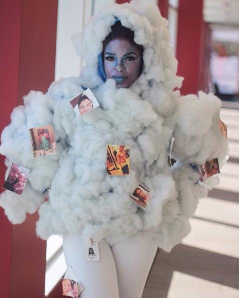 The Apple Cloud Halloween costume