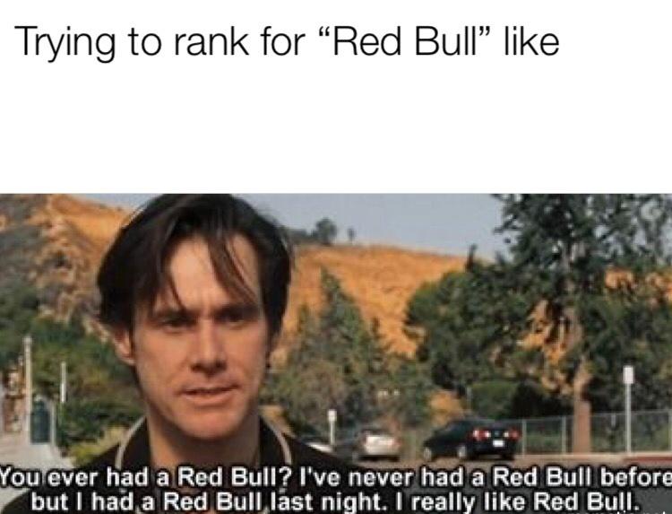 Trying to rank SEO meme