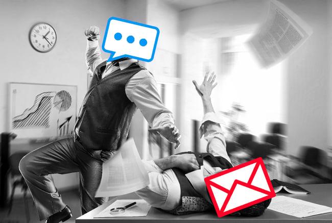 conversational marketing versus email