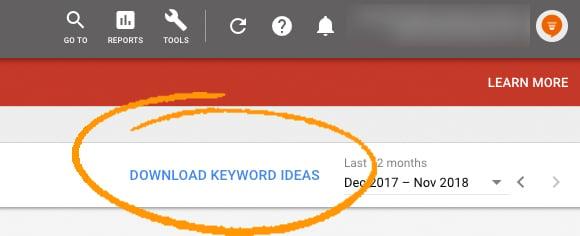 download-keywords-planner-adwords