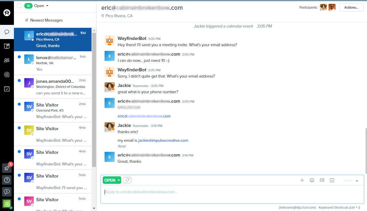 drift vs hubspot conversations shared inbox drift