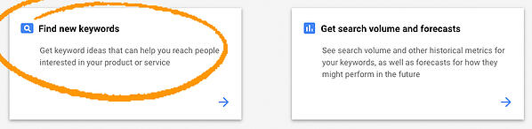 find-new-kewyords-google-ads