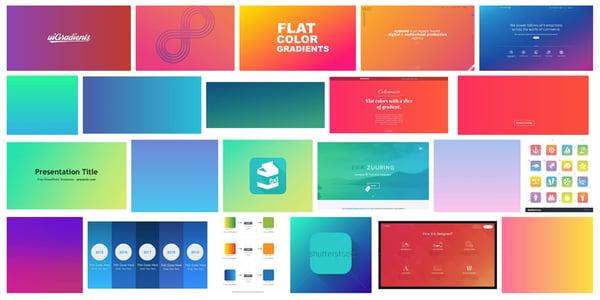 flat-gradient-trend