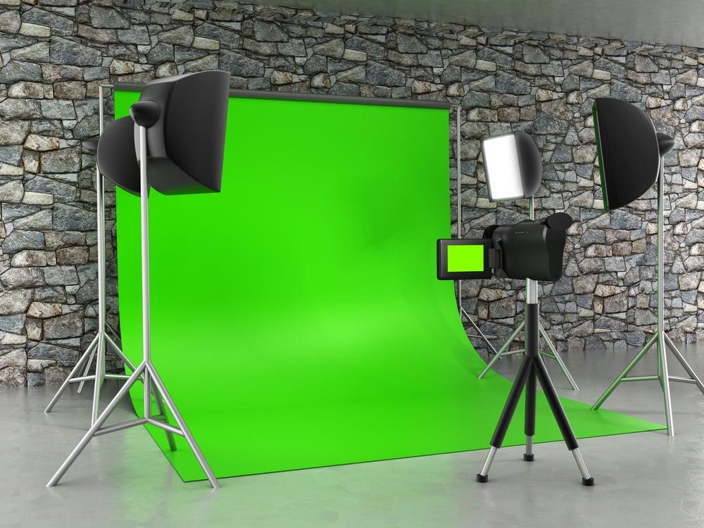 green screen video studio
