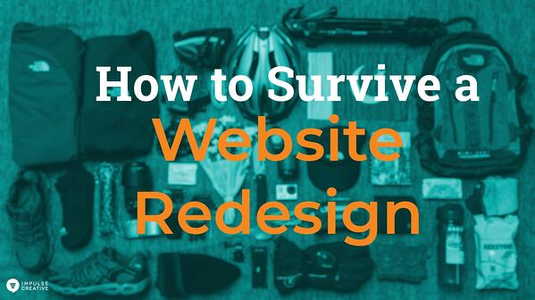 How to Survive a Website Redesign