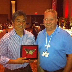 Guy Kawasaki and Dan Moyle at IMS 2011 - How to Survive #INBOUND19