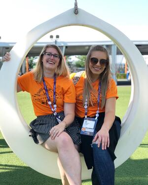 Jenn and Courtney - what to expect at #INBOUND19 as women of inbound