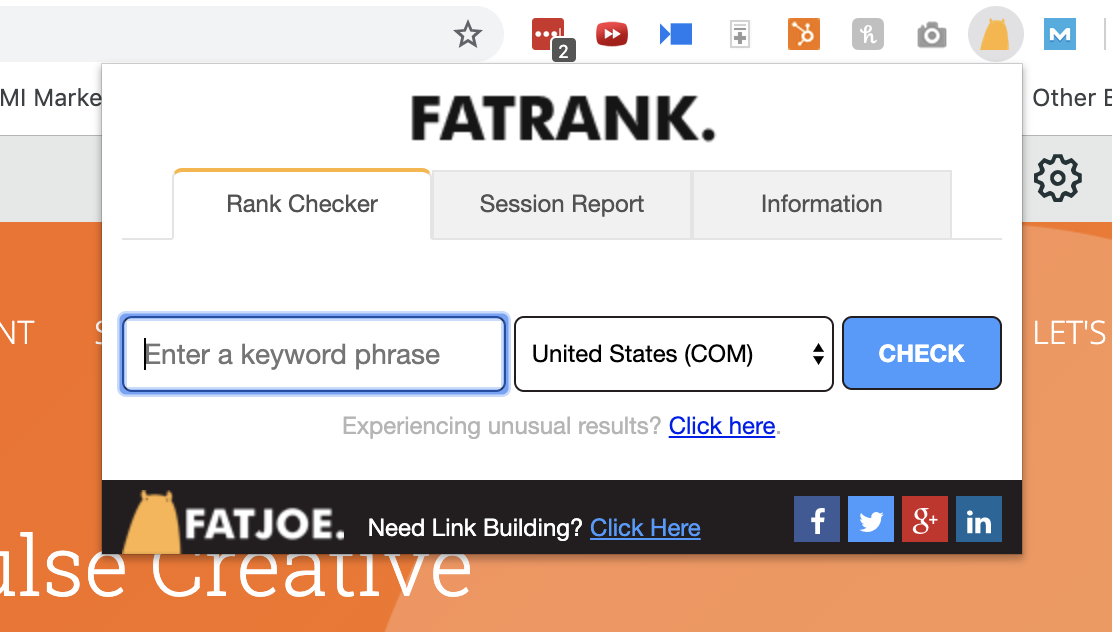 fatrank the best keyword seo ranking trackers