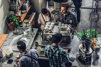 coffee shop example for tips for marketing your small business