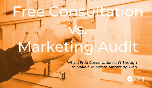 Why a Free Consultation isn't Enough to Make a 12-Month Marketing Plan