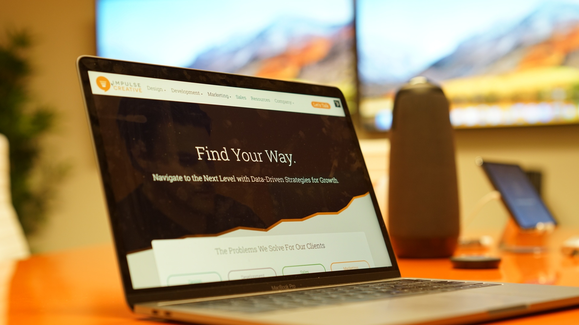 A New Site, a Refreshed Strategy, a Website that Grows with Us.