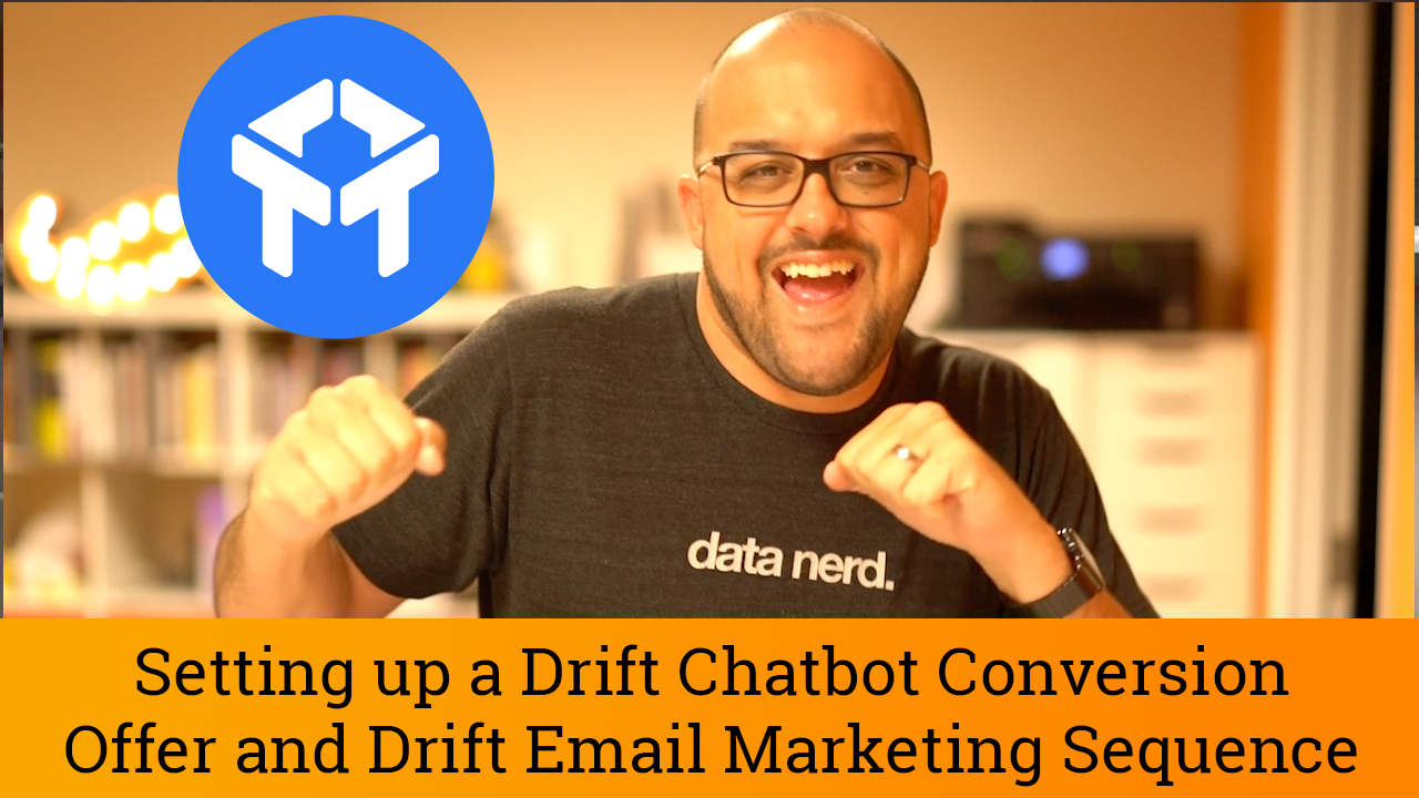 TUTORIAL: Chatbot Landing Page & Automatic Drift Email Marketing Sequence