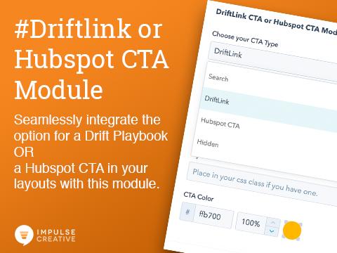 Driftlink CTA module