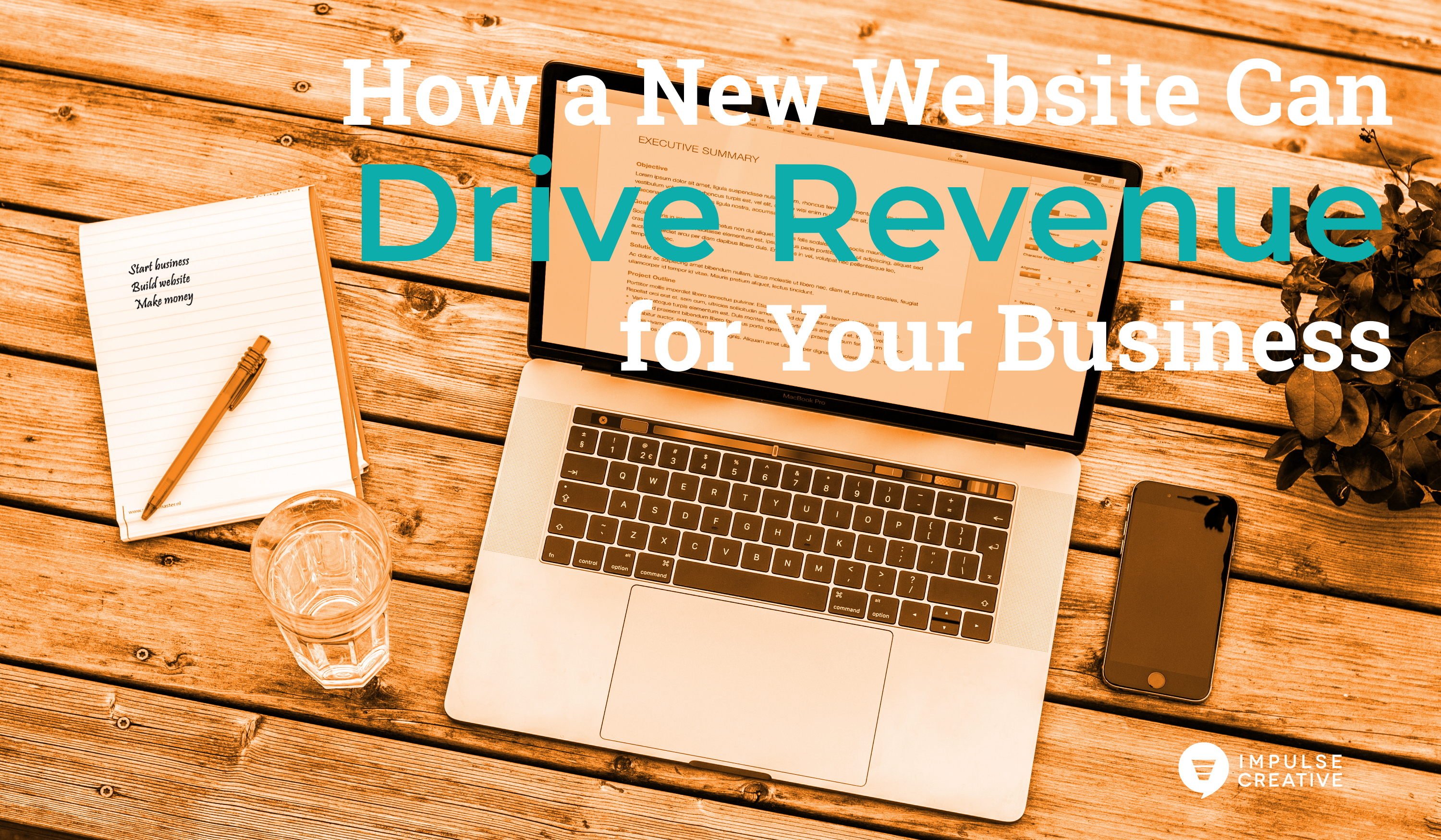 How a New Website Can Drive Revenue for Your Business