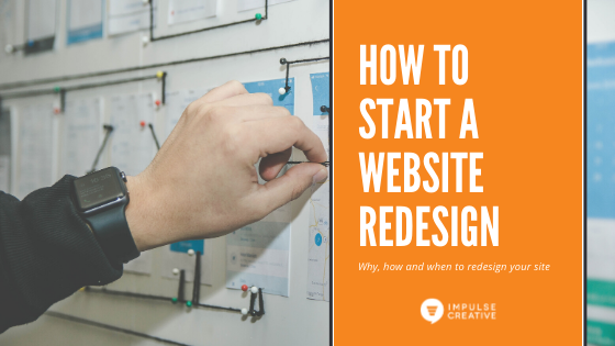 How to Start a Website Redesign