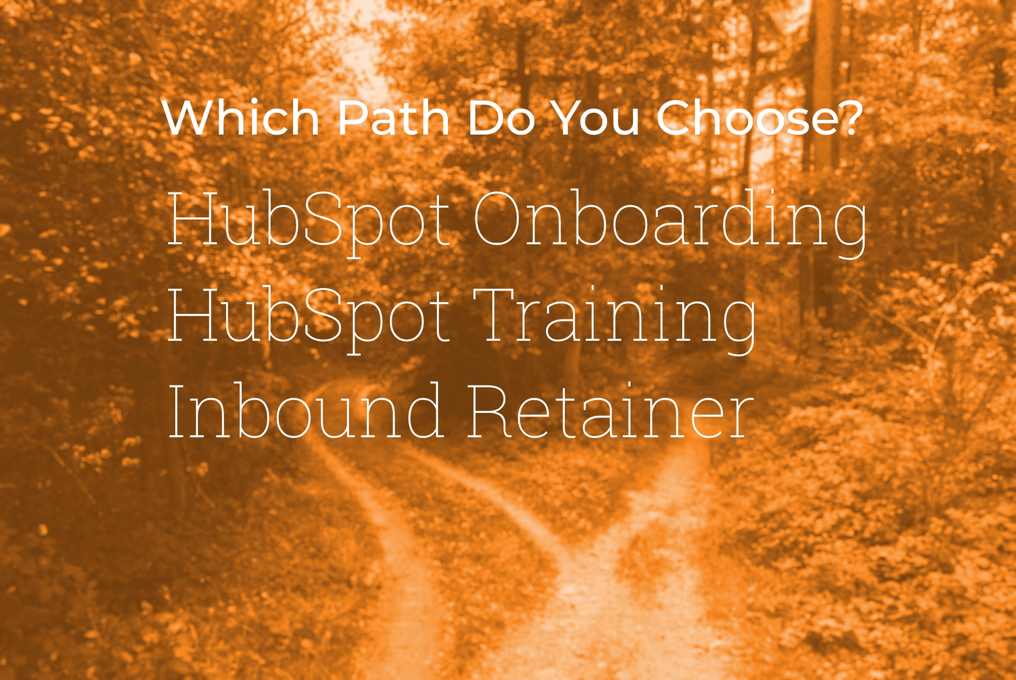 HubSpot Onboarding vs HubSpot Training vs Inbound Retainer
