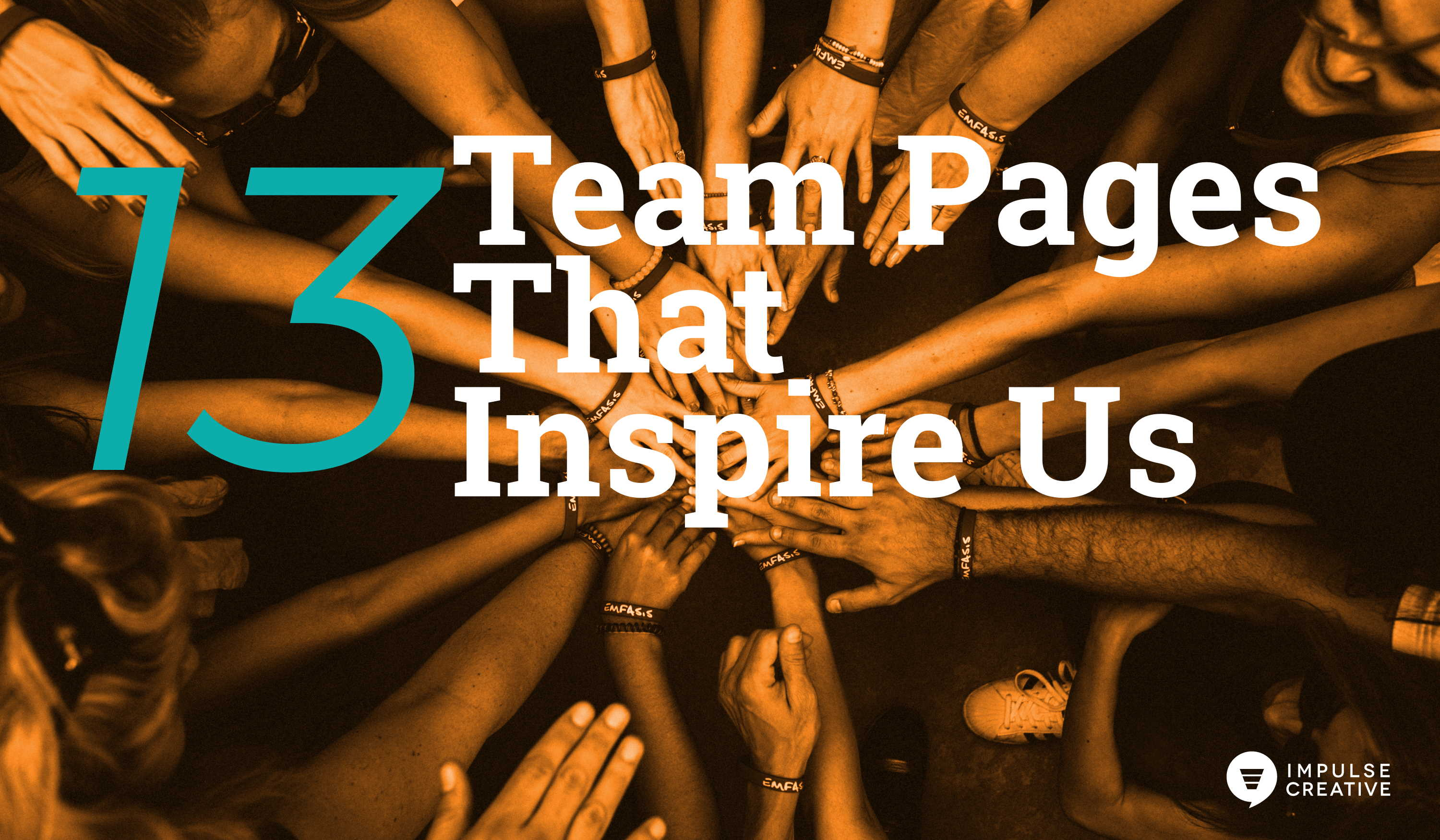 13 Team Pages That Inspire Us